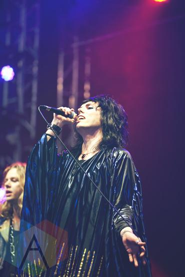 The Struts performing at Leeds Festival 2015 on Aug. 29, 2015. (Photo: Priti Shikotra/Aesthetic Magazine)