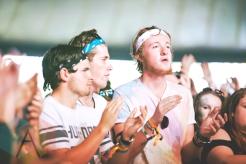 The crowd during Echosmith at Leeds Festival 2015 on Aug. 29, 2015. (Photo: Priti Shikotra/Aesthetic Magazine)
