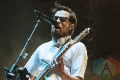 Weezer performing at Riot Fest Toronto 2015 at Downsview Park in Toronto, ON on Sept. 19, 2015. (Photo: Alyssa Balistreri/Aesthetic Magazine)