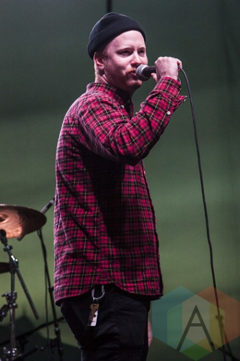 Like Pacific performing at Riot Fest Toronto 2015 at Downsview Park in Toronto, ON on Sept. 20, 2015. (Photo: Alyssa Balistreri/Aesthetic Magazine)