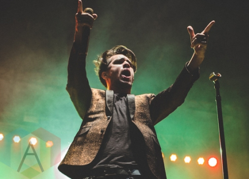 Panic At The Disco performing at Thrival Festival in Pittsburgh, PA on Sept. 25, 2015. (Photo: Emily Kovacic/Aesthetic Magazine)