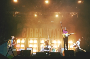 Circa Waves performing at Leeds Festival 2015 on Aug. 30, 2015. (Photo: Priti Shikotra/Aesthetic Magazine)