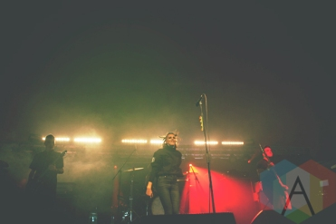 PVRIS performing at Leeds Festival 2015 on Aug. 30, 2015. (Photo: Priti Shikotra/Aesthetic Magazine)