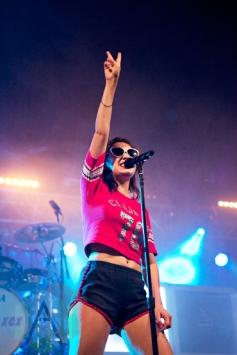 Charli XCX performing at Leeds Festival 2015 on Aug. 30, 2015. (Photo: Priti Shikotra/Aesthetic Magazine)