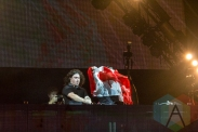 DVBBS performing at Mount Woozy 2015 at Echo Beach in Toronto on Sept. 7, 2015. (Photo: Liam Keery/Aesthetic Magazine)