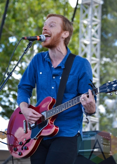 Kevin Devine performing at Riot Fest Chicago in Chicago, IL on Sept. 13, 2015. (Photo: Peter Hinsdale)