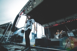 K Flay performing at Thrival Festival in Pittsburgh, PA on Sept. 25, 2015. (Photo: Emily Kovacic/Aesthetic Magazine)