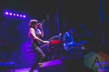 Lights performing at Thrival Festival in Pittsburgh, PA on Sept. 26, 2015. (Photo: Emily Kovacic/Aesthetic Magazine)