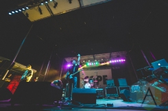 Manchester Orchestra performing at Thrival Festival in Pittsburgh, PA on Sept. 26, 2015. (Photo: Emily Kovacic/Aesthetic Magazine)