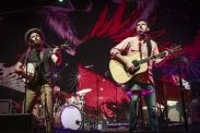 The Avett Brothers performing at CityFolk 2015 at Lansdowne Park in Ottawa, ON on Sept. 17, 2015. (Photo: Mark Horton)