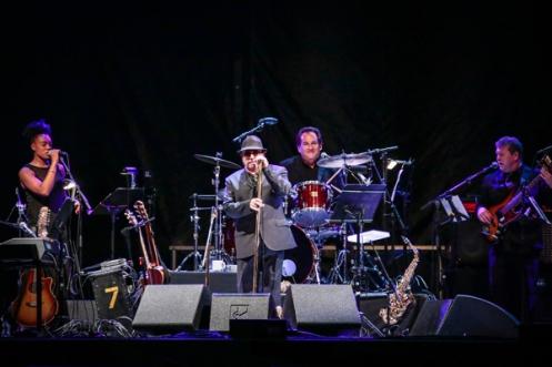 Van Morrison performing at CityFolk Festival 2015 at Lansdowne Park in Ottawa, ON on Sept. 18, 2015. (Photo: Mark Horton)