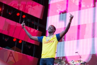 Meek Mill performing at the 2015 Budweiser Made in America Festival at Benjamin Franklin Parkway on Sept. 5, 2015 in Philadelphia, PA. (Photo: Jaime Schultz/Aesthetic Magazine)