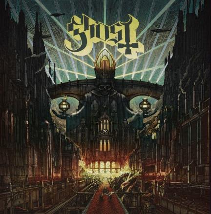Swedish heavy metal band Ghost released their third studio album, Meliora, on Aug. 21st.
