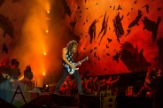 Metallica performing at Leeds Festival 2015 on Aug. 30, 2015. (Photo: Tom Martin)