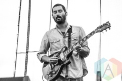 Thrice performing at Riot Fest Toronto 2015 at Downsview Park in Toronto, ON on Sept. 19, 2015. (Photo: Alyssa Balistreri/Aesthetic Magazine)