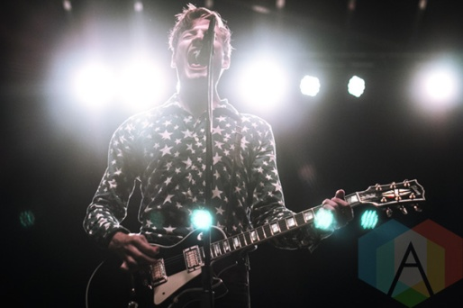 The Dirty Nil performing at Riot Fest Toronto 2015 at Downsview Park in Toronto, ON on Sept. 19, 2015. (Photo: Alyssa Balistreri/Aesthetic Magazine)