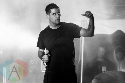 Alexisonfire performing at Riot Fest Toronto 2015 at Downsview Park in Toronto, ON on Sept. 19, 2015. (Photo: Alyssa Balistreri/Aesthetic Magazine)