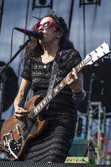 Babes In Toyland performing at Riot Fest Toronto 2015 at Downsview Park in Toronto, ON on Sept. 20, 2015. (Photo: Alyssa Balistreri/Aesthetic Magazine)