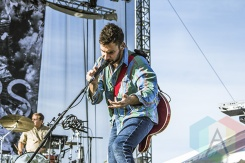 Bleachers performing at Riot Fest Toronto 2015 at Downsview Park in Toronto, ON on Sept. 20, 2015. (Photo: Alyssa Balistreri/Aesthetic Magazine)