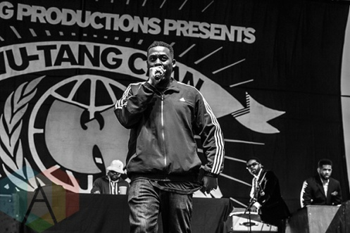 Wu-Tang Clan performing at Riot Fest Toronto 2015 at Downsview Park in Toronto, ON on Sept. 20, 2015. (Photo: Alyssa Balistreri/Aesthetic Magazine)