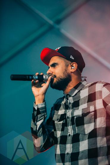 Delhi To Dublin performing at Rifflandia 2015 on Sept. 18, 2015. (Photo: Steven Shepherd/Aesthetic Magazine)