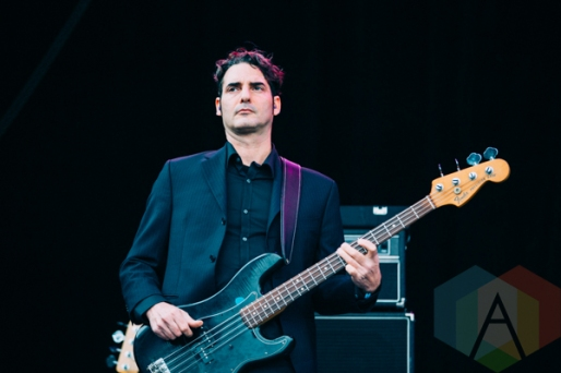 The Dears performing at Rifflandia 2015 on Sept. 18, 2015. (Photo: Steven Shepherd/Aesthetic Magazine)