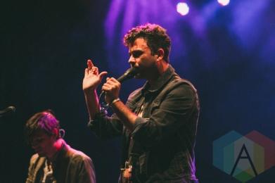 Arkells performing at Rifflandia 2015 on Sept. 18, 2015. (Photo: Steven Shepherd/Aesthetic Magazine)
