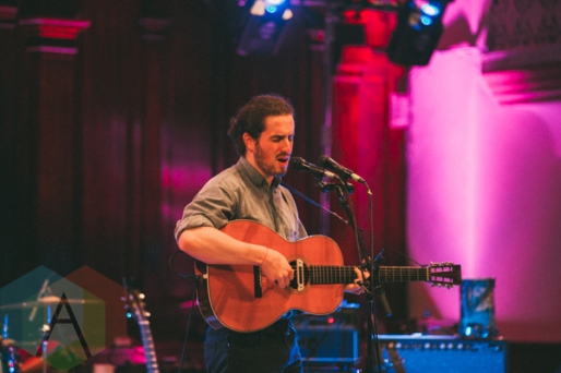 Luca Fogale performing at Rifflandia 2015 on Sept. 18, 2015. (Photo: Steven Shepherd/Aesthetic Magazine)