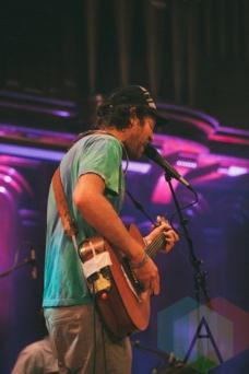 Chad VanGaalen performing at Rifflandia 2015 on Sept. 18, 2015. (Photo: Steven Shepherd/Aesthetic Magazine)