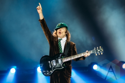 AC/DC performing at BC Place in Vancouver on Sept. 22, 2015. (Photo: Steven Shepherd/Aesthetic Magazine)