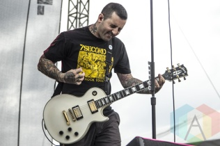 Bayside performing at Riot Fest Toronto 2015 at Downsview Park in Toronto, ON on Sept. 19, 2015. (Photo: Alyssa Balistreri/Aesthetic Magazine)