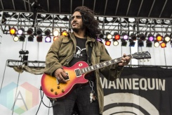 Die Mannequin performing at Riot Fest Toronto 2015 at Downsview Park in Toronto, ON on Sept. 19, 2015. (Photo: Alyssa Balistreri/Aesthetic Magazine)