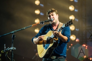 Mumford and Sons performing at Leeds Festival 2015 on Aug. 29, 2015. (Photo: Marc Sethi)