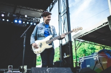 Panama Wedding performing at Thrival Festival in Pittsburgh, PA on Sept. 26, 2015. (Photo: Emily Kovacic/Aesthetic Magazine)