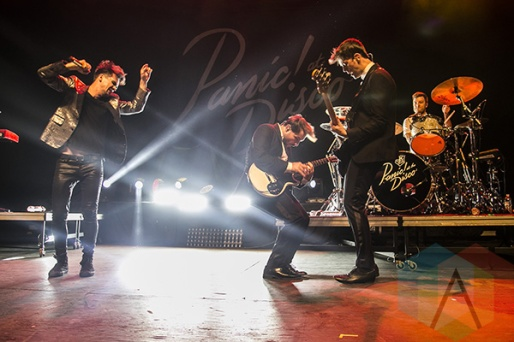 Panic At The Disco performing at Chill On The Hill 2015 in Detroit, MI on Sept. 12, 2015. (Photo: Amanda Cain/Aesthetic Magazine)