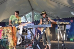 Doomsquad performing at Camp Wavelength in Toronto, ON on Aug. 29, 2015. (Photo: Justin Roth/Aesthetic Magazine)