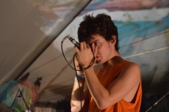 Moon King performing at Camp Wavelength in Toronto, ON on Aug. 29, 2015. (Photo: Justin Roth/Aesthetic Magazine)