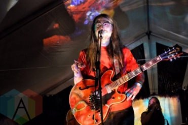 The Wooden Sky performing at Camp Wavelength in Toronto, ON on Aug. 29, 2015. (Photo: Justin Roth/Aesthetic Magazine)