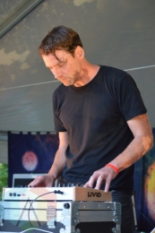 Loscil performing at Camp Wavelength in Toronto, ON on Aug. 30, 2015. (Photo: Justin Roth/Aesthetic Magazine)