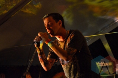 Do Make Say Think performing at Camp Wavelength in Toronto, ON on Aug. 30, 2015. (Photo: Justin Roth/Aesthetic Magazine)