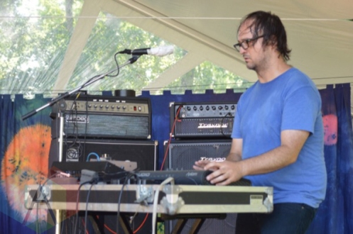 Scattered Clouds performing at Camp Wavelength in Toronto, ON on Aug. 30, 2015. (Photo: Justin Roth/Aesthetic Magazine)