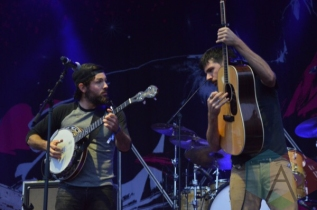 The Avett Brothers performing at TURF 2015 in Toronto, ON, on Sept. 18, 2015. (Photo: Justin Roth/Aesthetic Magazine)