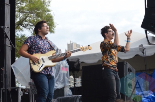 The Elwins performing at TURF 2015 in Toronto, ON, on Sept. 19, 2015. (Photo: Justin Roth/Aesthetic Magazine)