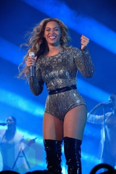 Beyonce performing at the 2015 Budweiser Made in America Festival at Benjamin Franklin Parkway on Sept. 5, 2015 in Philadelphia, PA. (Photo: Kevin Mazur/Getty)