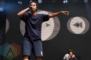Earl Sweatshirt performing at the 2015 Budweiser Made in America Festival at Benjamin Franklin Parkway on Sept. 5, 2015 in Philadelphia, PA. (Photo: Kevin Mazur/Getty)