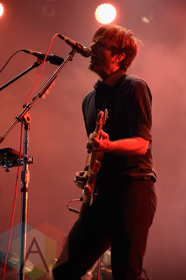 Ben Gibbard of Death Cab for Cutie performing at the 2015 Budweiser Made in America Festival at Benjamin Franklin Parkway on Sept. 5, 2015 in Philadelphia, PA. (Photo: Kevin Mazur/Getty)