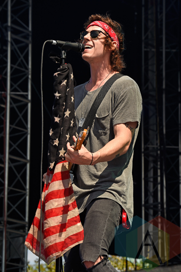Andy Tongren of Young Rising Sons performing at the 2015 Budweiser Made in America Festival at Benjamin Franklin Parkway on Sept. 5, 2015 in Philadelphia, PA. (Photo: Kevin Mazur/Getty)