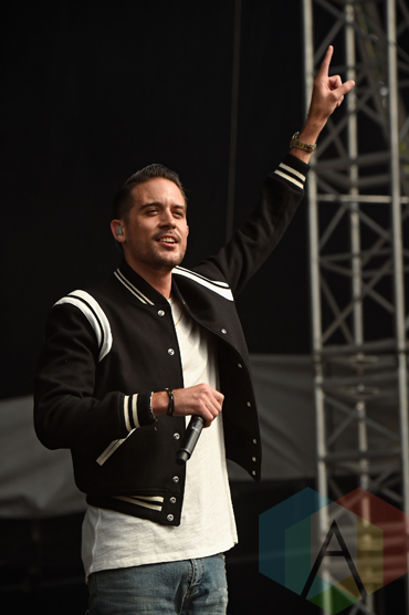 G-Eazy performing at the 2015 Budweiser Made in America Festival at Benjamin Franklin Parkway on Sept. 5, 2015 in Philadelphia, PA. (Photo: Kevin Mazur/Getty)