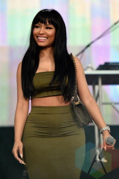 Nicki Minaj performing during Meek Mill's set at the 2015 Budweiser Made in America Festival at Benjamin Franklin Parkway on Sept. 5, 2015 in Philadelphia, PA. (Photo: Kevin Mazur/Getty)