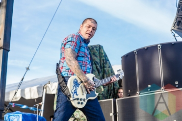 Rancid performing at Riot Fest Toronto 2015 at Downsview Park in Toronto, ON on Sept. 20, 2015. (Photo: Dale Benvenuto/Aesthetic Magazine)